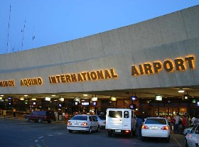 how to get airport pass in naia