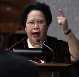Miriam Santiago: Pointless exercise?