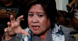 Justice Secretary Leila De Lima acted like the President's thug in preventing Arroyo's departure.