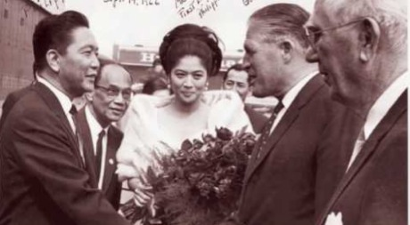Imelda Marcos during her heyday as First Lady to strongman Ferdinand Marcos
