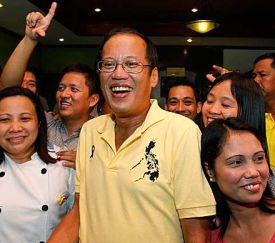 Noynoy: In his element on the campaign trail rather than in the office