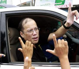 Campaigns are the only truly serious order of business for BS Aquino.