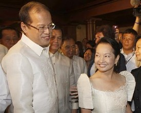 Former allies: President BS Aquino, voted against listening to the 'Hello Garci' tapes during a congressional hearing.
