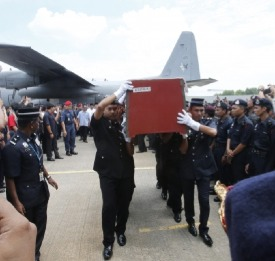 Malaysian casualty in the Sabah standoff