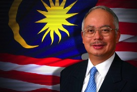 Razak: under attack for alleged election fraud