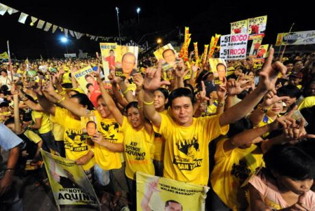 Supporters of Liberal party presidential