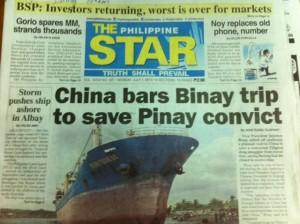 Binay China Trip