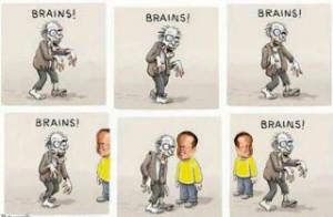 Noynoy Aquino Zombie Brains