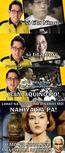 Bam Aquino Stupidity moron loser coattails