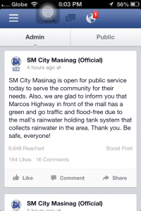 SM Masinag