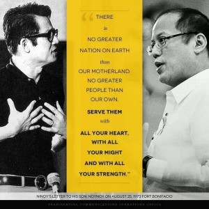 How would Ninoy feel that 40 years after this letter was written the subject would be known for Noynoying?
