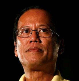 Popular with the gullible crowd: President BS Aquino