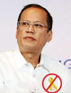 Noynoy Yellow Ribbon