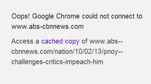 cached pnoy impeach