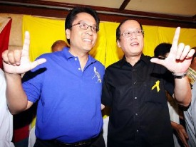 Unable to live up to their illustrious surnames: Mar Roxas and Noynoy Aquino