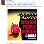 noemi dado million peso march