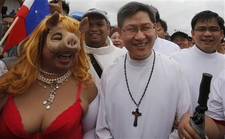 Time to rethink: Costumed circus acts and religious undercurrents in Ph activism