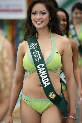 Miss Canada: Riza Santos