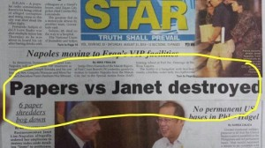 Is this why Napoles is totally OK with wasting everybody's time?