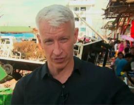 Telling it like it is in Tacloban: CNN's Anderson Cooper