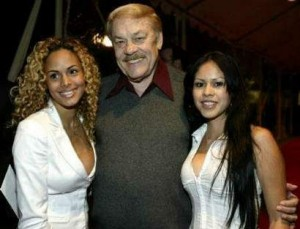 Jerry Buss was a self made millionaire. Perfect contrast for the rest of my story.