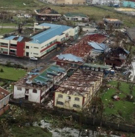 Extensive damage: Tacloban post Yolanda