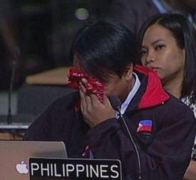 UN delegate Yeb Sano: Uwi na anak, let the grownups take over.