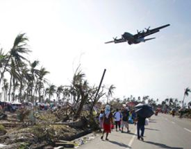 Millions of Filipinos will be looking to the heavens for relief for many months to come.