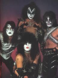 Ace, Gene, Peter and Paul. The original Kiss lineup