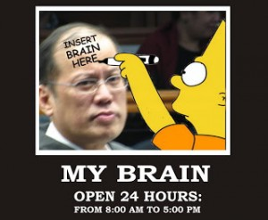 You have to ask yourself if the abundance of Noynoy memes are inspired by his genius and deft handling of his role as President?