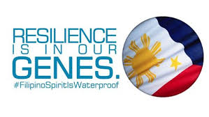 Resilence has the word silence in it. Something online pinoys know very little about.