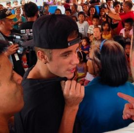 Can Justin Bieber save the Philippines?