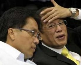Mar Roxas seems to be acting as the unofficial presidential spokesman nowadays.