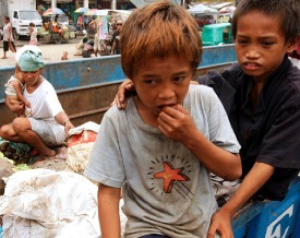 Garbage-fed generation: The welfare of children in the Philippines is low in the list of priorities.