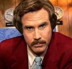 Anchorman 2 news reporting legend Ron Burgundy