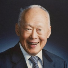 No time for small talk: Singapore elder statesman Lee Kuan Yew
