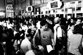 OFWs are really unemployed Filipinos disguised as expatriate workers.