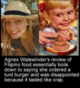 agnes walewinder orders turd burger