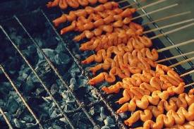 Isaw: No germs can survive this grilling!