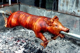 Animal rights activists might find the sight of lechon offensive.