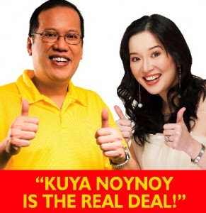 Kris Aquino insults everyone's intelligence not just Andrew Garfield when she suggests her movie beats The Spiderman. Back in 2010 she did a similar ploy suggesting her good for nothing fifty year old brother was suited to be the president of a nation.
