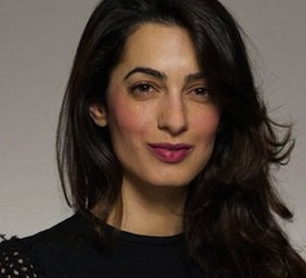 International human rights lawyer Amal Alamuddin is also George Clooney's fiancee.