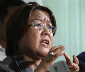 Suffering from trust issues: DOJ Sec. Leila De Lima