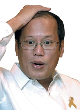 "President BS Aquino's usual lame excuse: ""I was not informed!"""