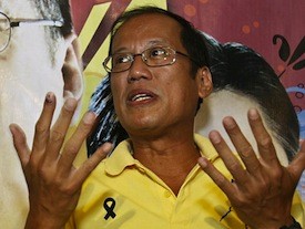 Unclean hands: No amount of prayer can wash BS Aquino's tainted hands!
