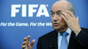 Show must go on insists Blatter. He seems to be fine with their decision to award the Games to a place that systematically treats workers as less than human.