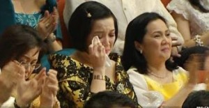 There is something to be said that Kris Aquino fits seamlessly  into both worlds of Show Biz and Government.