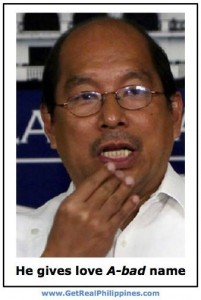 Abad who has his hands all over the unconstitutional DAP is without fault. Noynoy says so.