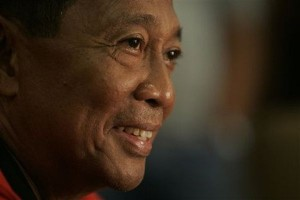 Party does not matter, only winning: Vice President Jejomar Binay