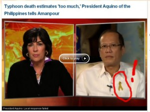 Noynoy is allergic to any situation put on by an institution that doesn't worship him.